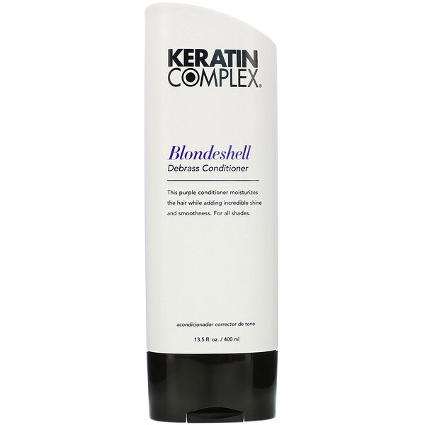 Keratin Complex, Blondeshell Debrass Conditioner, 13.5 fl oz (400 ml) (Discontinued Item)