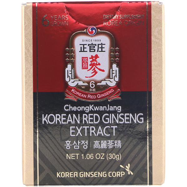 Cheong Kwan Jang, Korean Red Ginseng Extract, 1.06 oz (30 g)