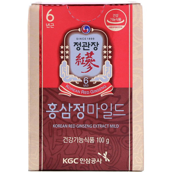 Korean Red Ginseng Extract Mild, 3.5 oz (100 g)