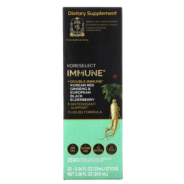 Koreselect, Immune, 10 Sticks, 0.34 fl oz (10 ml) Each