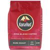 KonaRed , Café kona mezcla, tostado oscuro, molido, 12 oz (340 g)