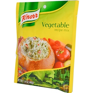 Knorr, Vegetable Recipe Mix, 1.4 oz (40 g)