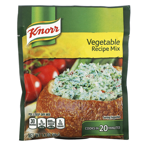 Vegetable Recipe Mix, 1.4 oz (40 g)