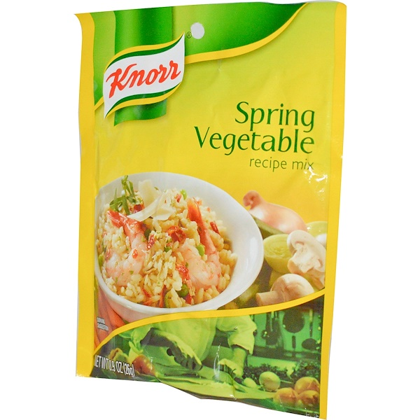 Knorr, Spring Vegetable Recipe Mix, 0.9 oz (26 g) (Discontinued Item)