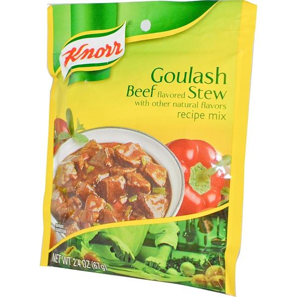 Knorr, Смесь для приготовления гуляша из говядины, 2,4 унции (67 г) (Discontinued Item)