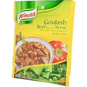 Кнорр, Goulash Beef Stew Recipe Mix, 2.4 oz (67 g) отзывы покупателей