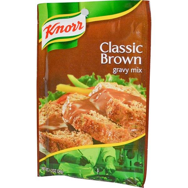 Knorr, Коричневый соус классического смешения, 1,2 унции (34 гр) (Discontinued Item)
