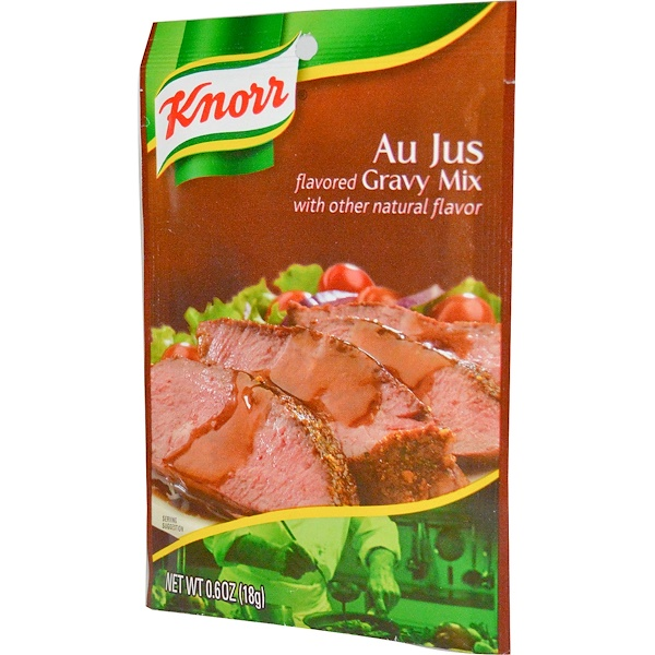 Knorr, Au Jus Gravy Mix, 0.6 oz (18 g) (Discontinued Item)