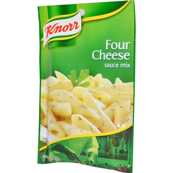 Knorr, Four Cheese Sauce Mix, 1.5 oz (43 g) (Discontinued Item)