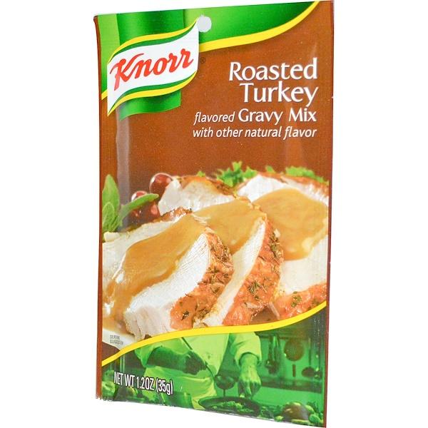 Knorr, Микс для соуса из жареной индейки 1.2 унции (35 г) (Discontinued Item)