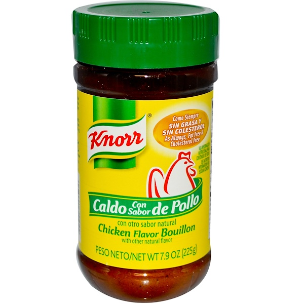 Knorr, Chicken Flavor Bouillon, 7.9 oz (225 g) (Discontinued Item)