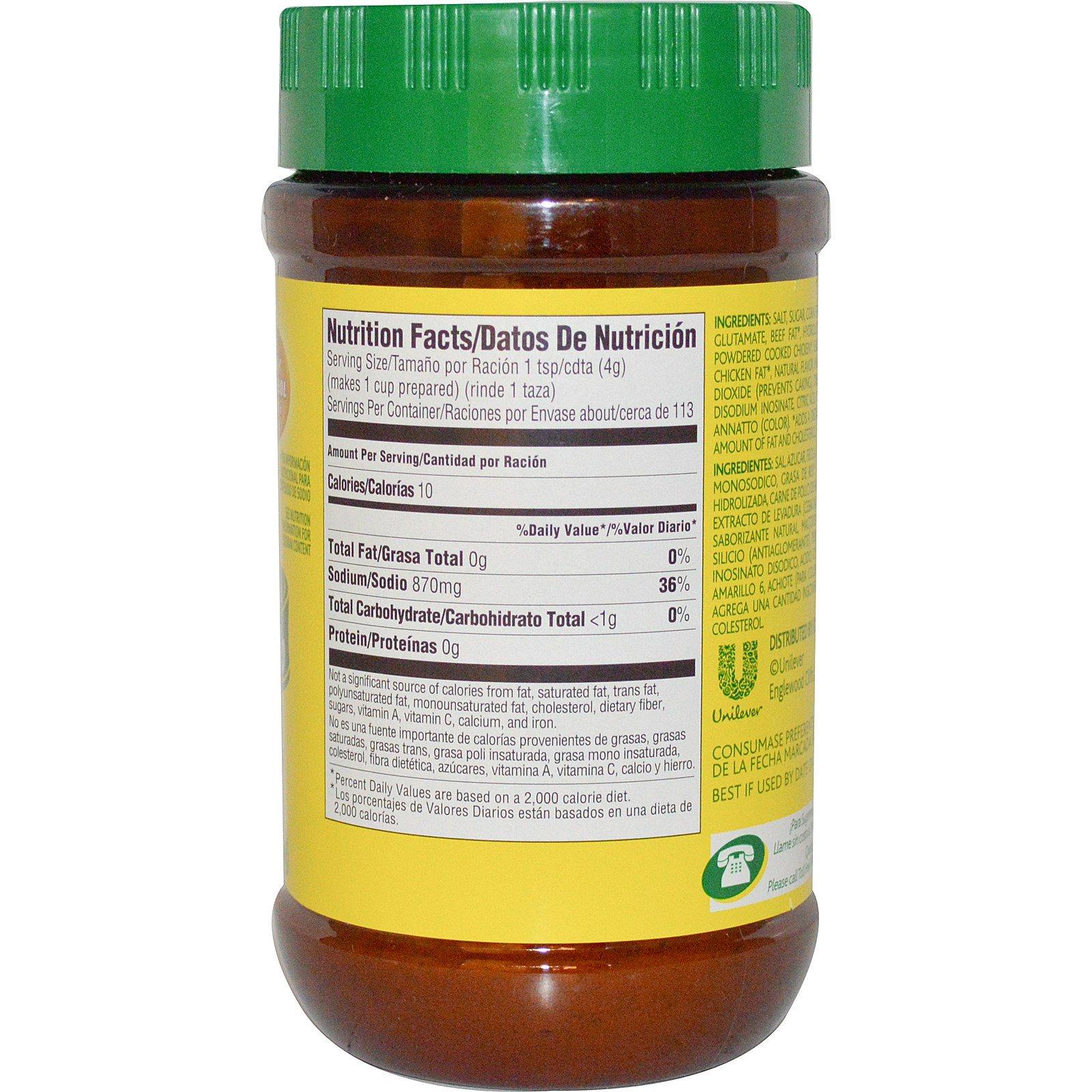 Knorr, Chicken Flavor Bouillon, 15.9 oz