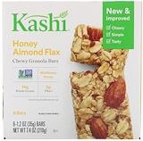 Отзывы о Kashi, Батончики Chewy Granola Bars, Honey Almond Flax, 6 батончиков, 35 г каждый
