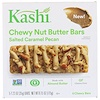 Kashi, Chewy Nut Butter Bars, Salted Caramel Pecan, 5 Chewy Bars, 1.23 oz (35 g) Each