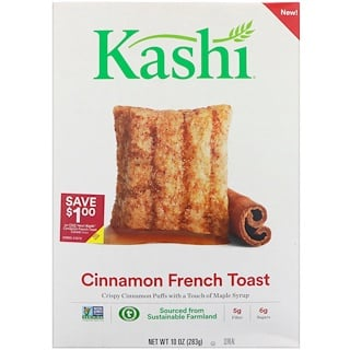 Kashi, シナモン・フレンチトースト・シリアル、10 oz (283 g)