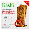 Kashi, Savory Bars, Quinoa, Corn And Roasted Pepper, 5 - 2 Bars Pouches 1.05 oz (30 g) (Discontinued Item)