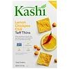 Kashi, Teff Thins, Lemon Chickpea Chili, Snack Crackers, 4.25 oz (120 g)