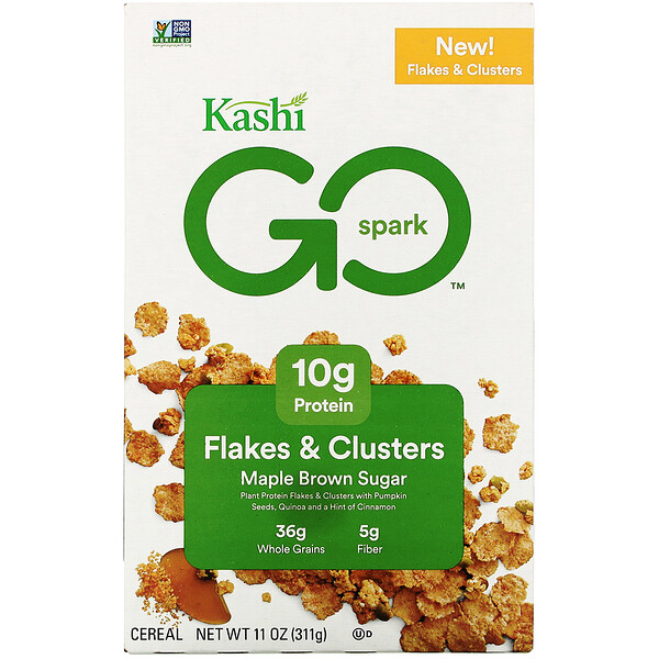 GO Spark Cereal, Maple Brown Sugar, 11 oz (311 g)