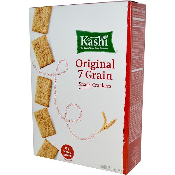 Kashi, Snack Crackers, Original 7 Grain, 9 oz (255 g)