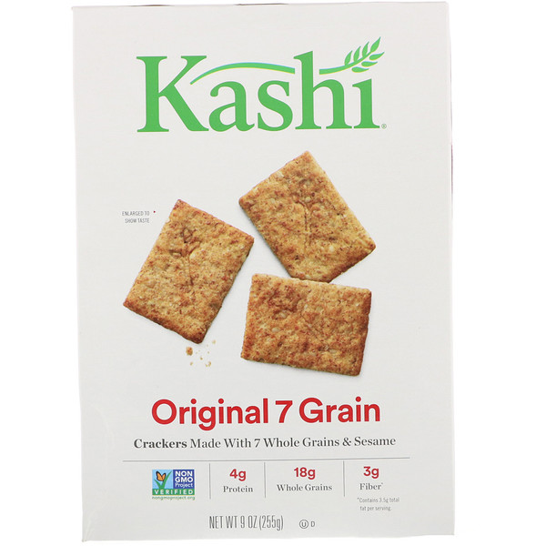 Kashi, Original 7 Grain Crackers, 9 oz (255 g) (Discontinued Item)