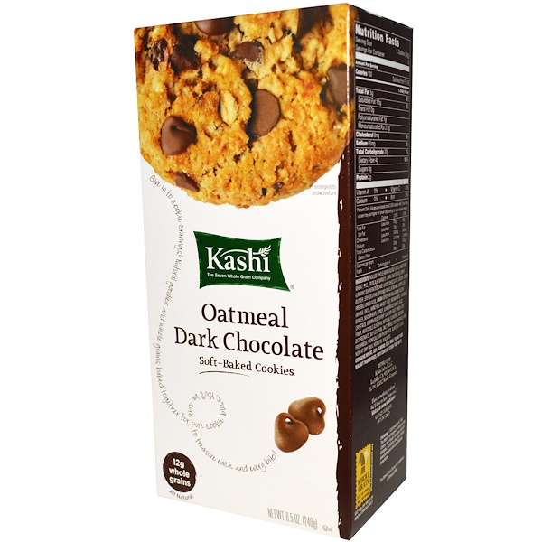 Kashi, Soft-Baked Cookies, Oatmeal  Dark Chocolate, 8.5 oz (240 g)