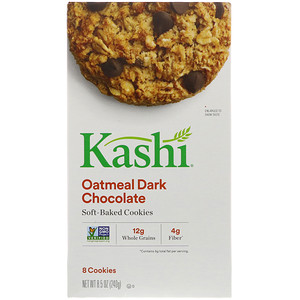 Каши, Soft-Baked Cookies, Oatmeal  Dark Chocolate, 8.5 oz (240 g) отзывы покупателей