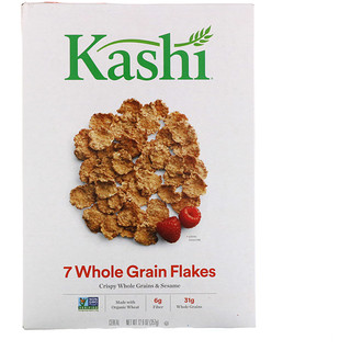 Kashi, 7 Whole Grain Flakes Cereal, 12.6 oz (357 g)