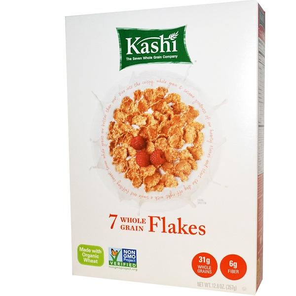 Kashi, 7種の全粒穀物フレーク、12.6オンス(357 g)