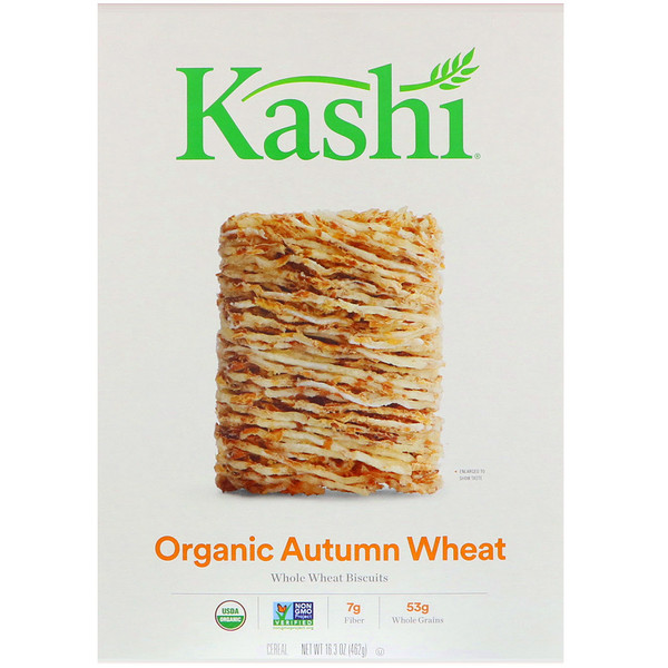 Kashi, Organic Autumn Wheat Cereal, 16.3 oz (462 g) (Discontinued Item)