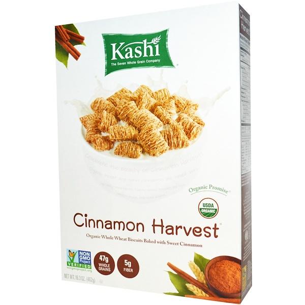 Kashi, Cinnamon Harvest®(シナモンハーベスト)シリアル、16.3 オンス (462 g) (Discontinued Item)