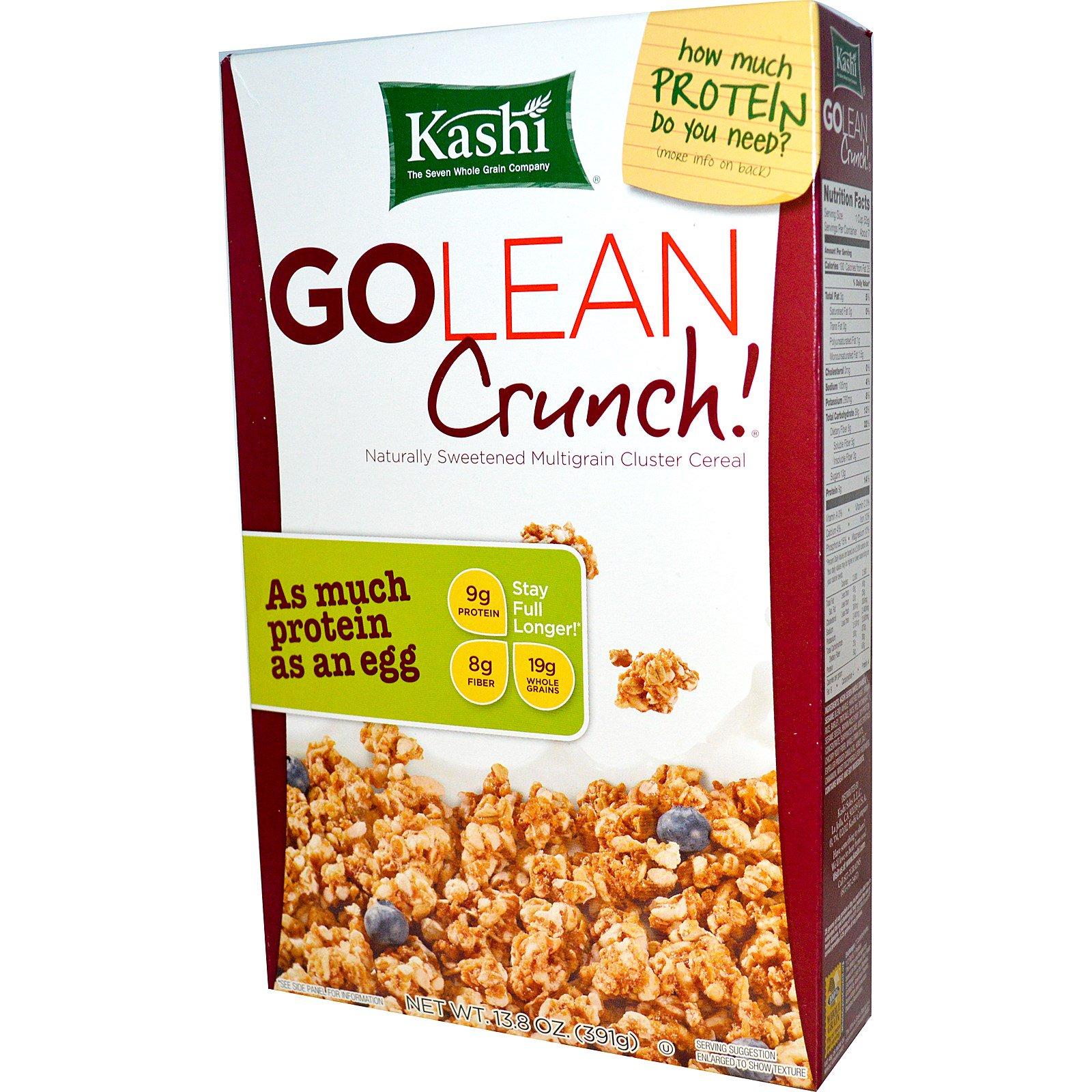 Kashi, Каша GoLean Crunch!, 13.8 унций (391 г)