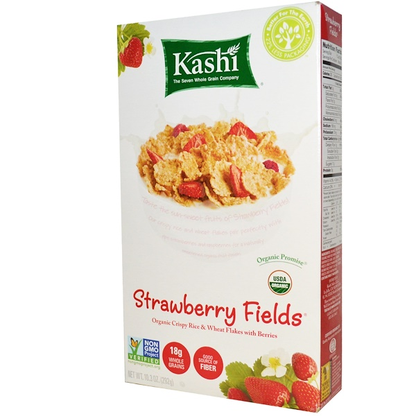 Strawberry Fields Cereal, 10.3 oz (292 g)