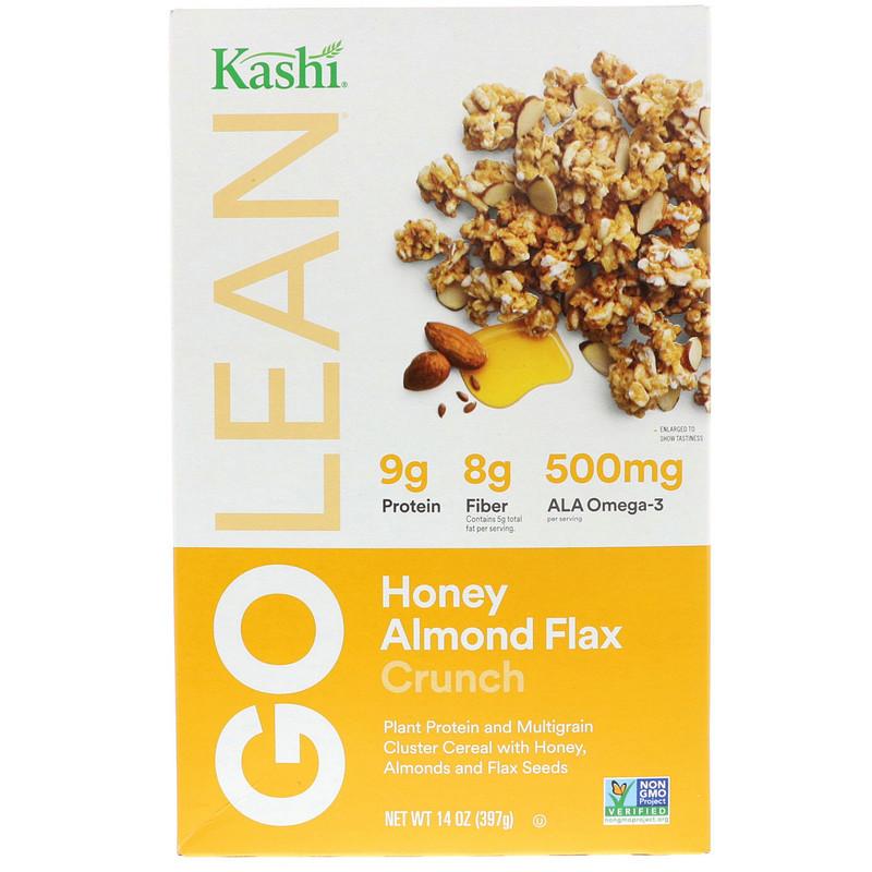 GoLean Crunch! Honey Almond Flax Cereal, 14 oz (397 g)