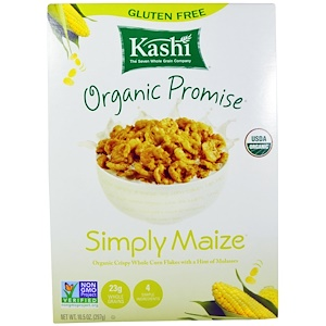 Каши, Organic Promise, Simply Maize, Crispy Whole Corn Flakes, 10.5 oz (297 g) отзывы