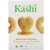 Kashi, Heart to Heart Oat Cereal, Organic Honey Toasted, 12 oz (340 g)