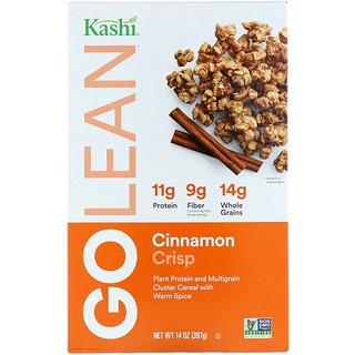 Kashi, ゴーリーンクリスプ、 自然な甘みのマルチグレインクラスターシリアル 、 シナモンクランブル、 14オンス (397 g)