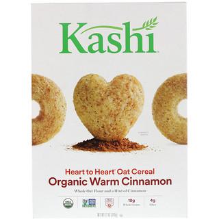 Kashi, Heart to Heart Oat Cereal, Organic Warm Cinnamon, 12 oz (340 g)