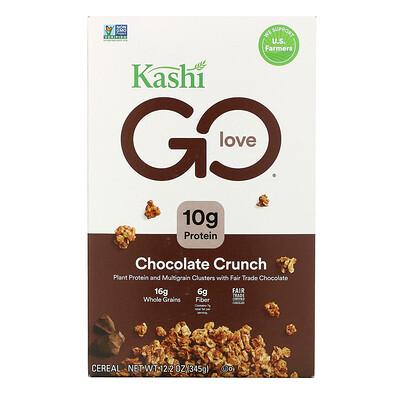 Купить Kashi GO Lean, Chocolate Crunch, 12.2 oz (345 g)