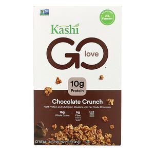 Каши, GO Love, Chocolate Crunch, 12.2 oz (345 g) отзывы покупателей