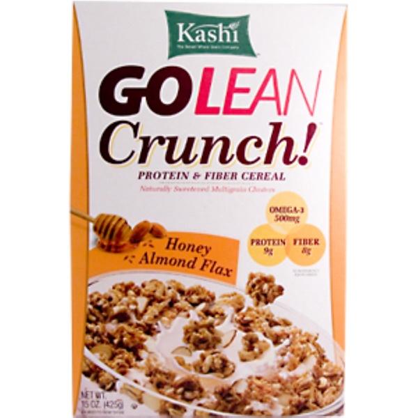 Kashi, GoLean Crunch, Honey Almond Flax, 15 oz. (425 g) (Discontinued Item)