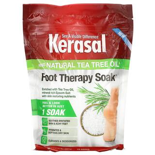 Kerasal, Foot Therapy Soak Plus Natural Tea Tree Oil, 2 lbs (907 g)