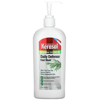 Kerasal, Daily Defense Foot Wash Plus Natural Tea Tree Oil, 12 fl oz (355 ml)