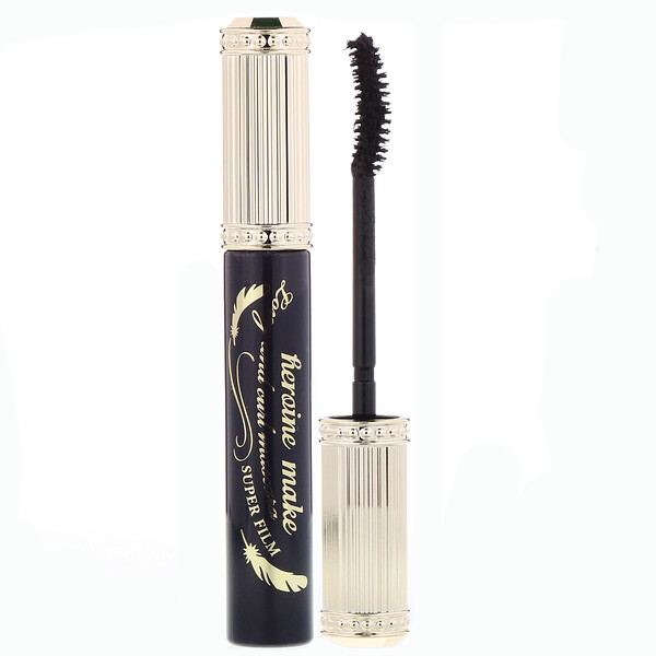 Heroine Make, Long & Curl Mascara, Super Film, #01 Super Black, 0.21 oz (6 g)