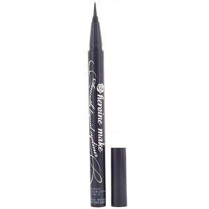 KissMe, Heroine Make, Smooth Liquid Eyeliner, Super Keep, Waterproof, #01 Super Black,  0.014 fl oz (0.4 ml) отзывы покупателей