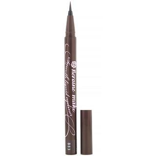 KissMe, Heroine Make, Eye-liner liquide velouté waterproof excellente tenue, #02 Bitter Brown, 0,4ml