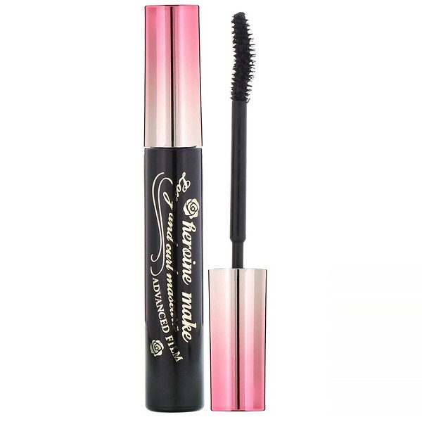 Heroine Make, Long & Curl Mascara, Advanced Film, Waterproof,  #01 Super Black, 0.21 oz (6 g)