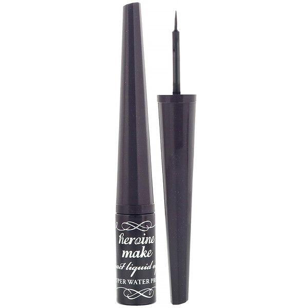 Heroine Make, Impact Liquid Eyeliner, Super Waterproof, #01 Super Black, 0.09 oz (2.5 g)