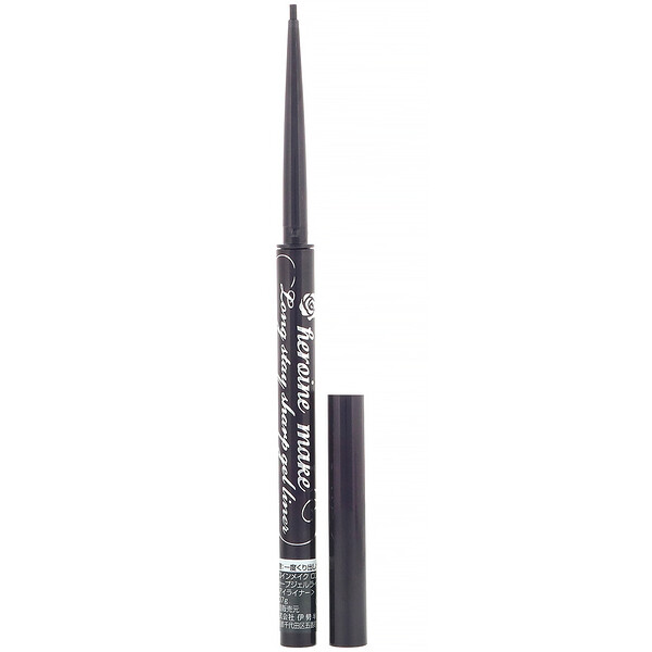 Heroine Make, Long Stay Sharp Gel Liner, Super Waterproof, #01 Super Black, 0.002 oz (0.07 g)