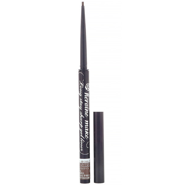 Heroine Make, Long Stay Sharp Gel Liner, Super Waterproof, #02 Dark Brown, 0.002 oz (0.07 g)