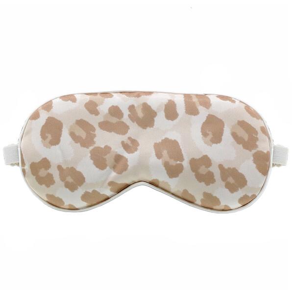 Satin Eye Mask, Leopard, 1 Eye Mask